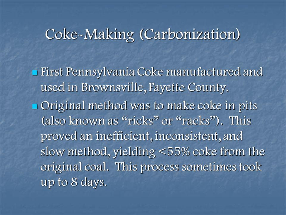 Coke-Making (Carbonization)