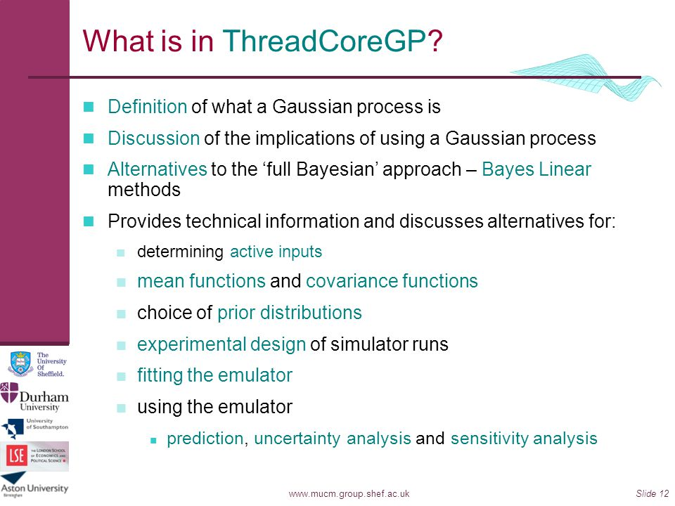 What is in ThreadCoreGP