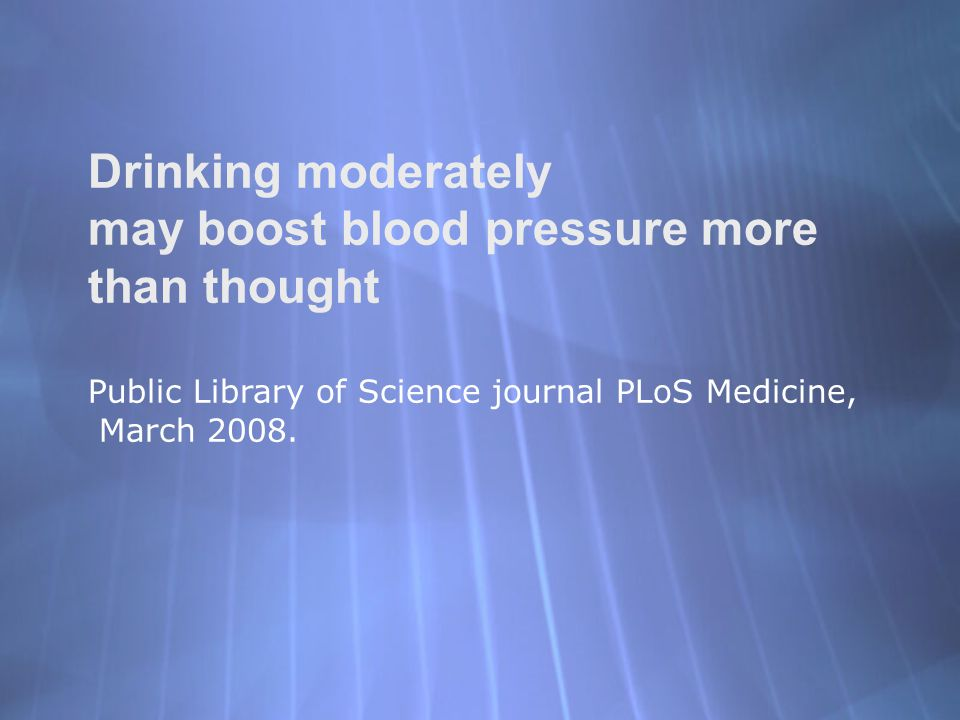 may boost blood pressure more than thought