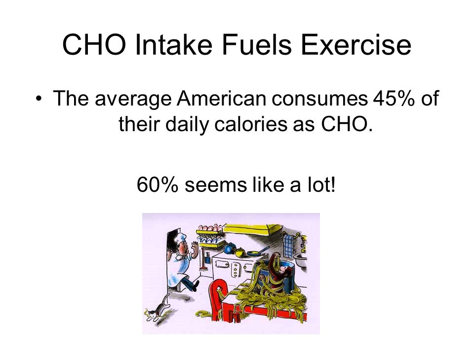 CHO Intake Fuels Exercise