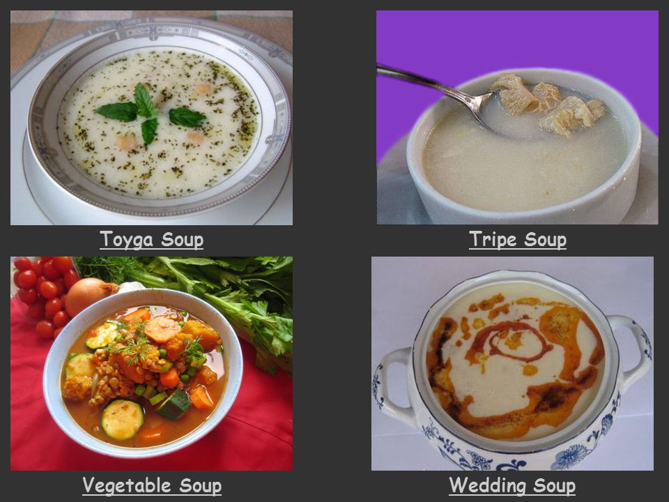 Toyga Soup Tripe Soup Vegetable Soup Wedding Soup