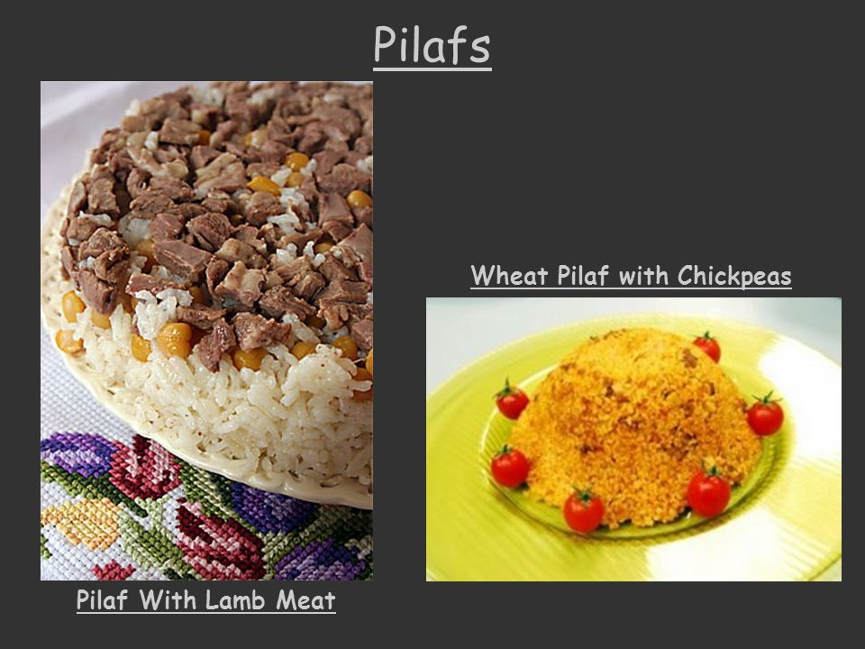 Wheat Pilaf with Chickpeas