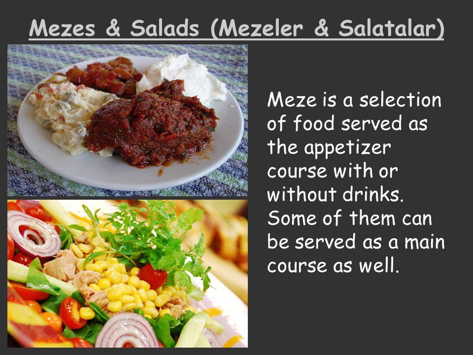 Mezes & Salads (Mezeler & Salatalar)