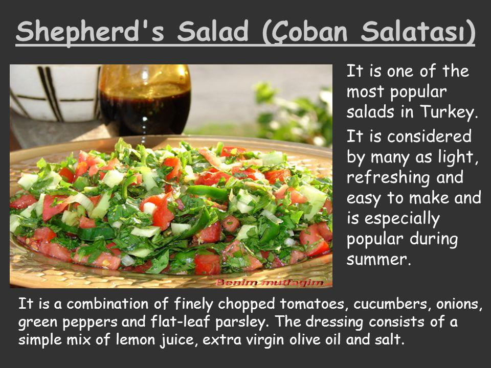 Shepherd s Salad (Çoban Salatası)