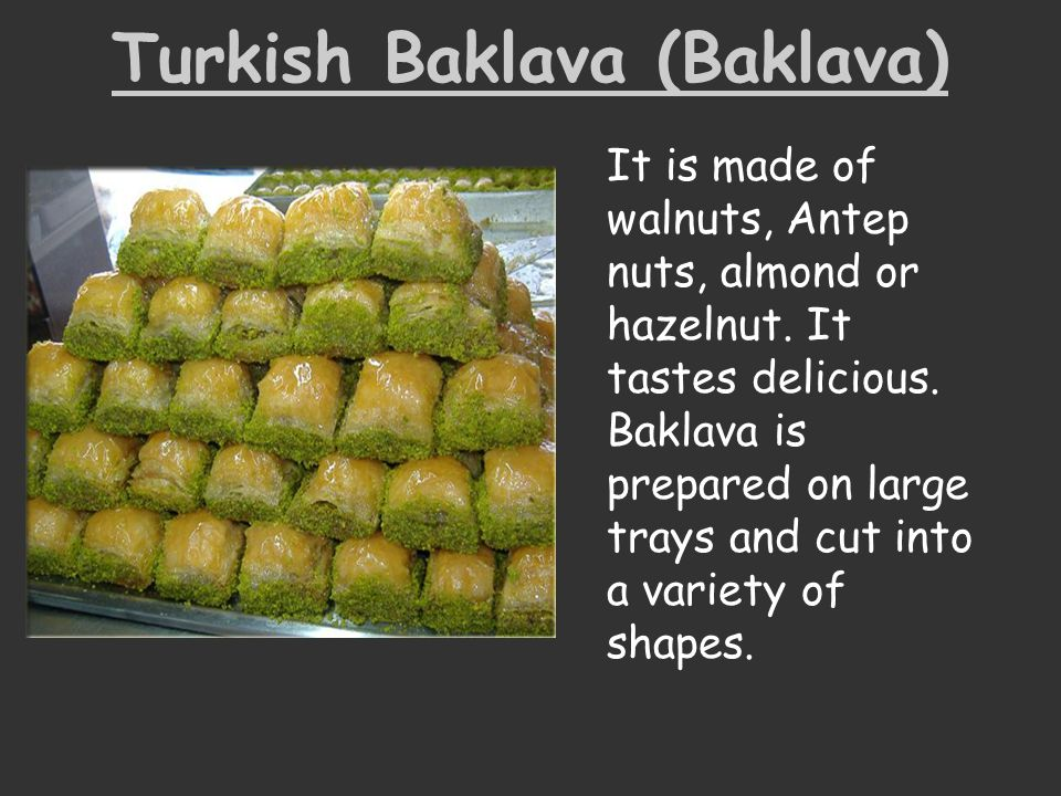 Turkish Baklava (Baklava)