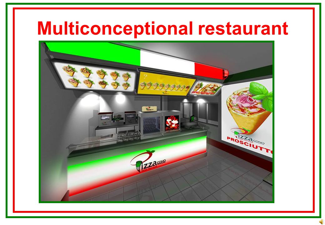 Peculiarities Made in Italy New technology + Italian recipes
