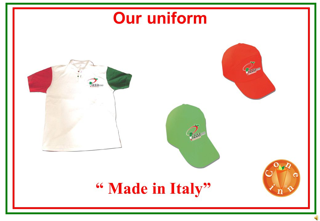 Stratagies Made in Italy Corporate values Personal strategy