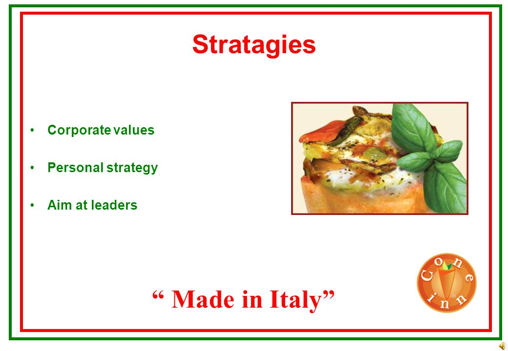 FULL STORES Made in Italy