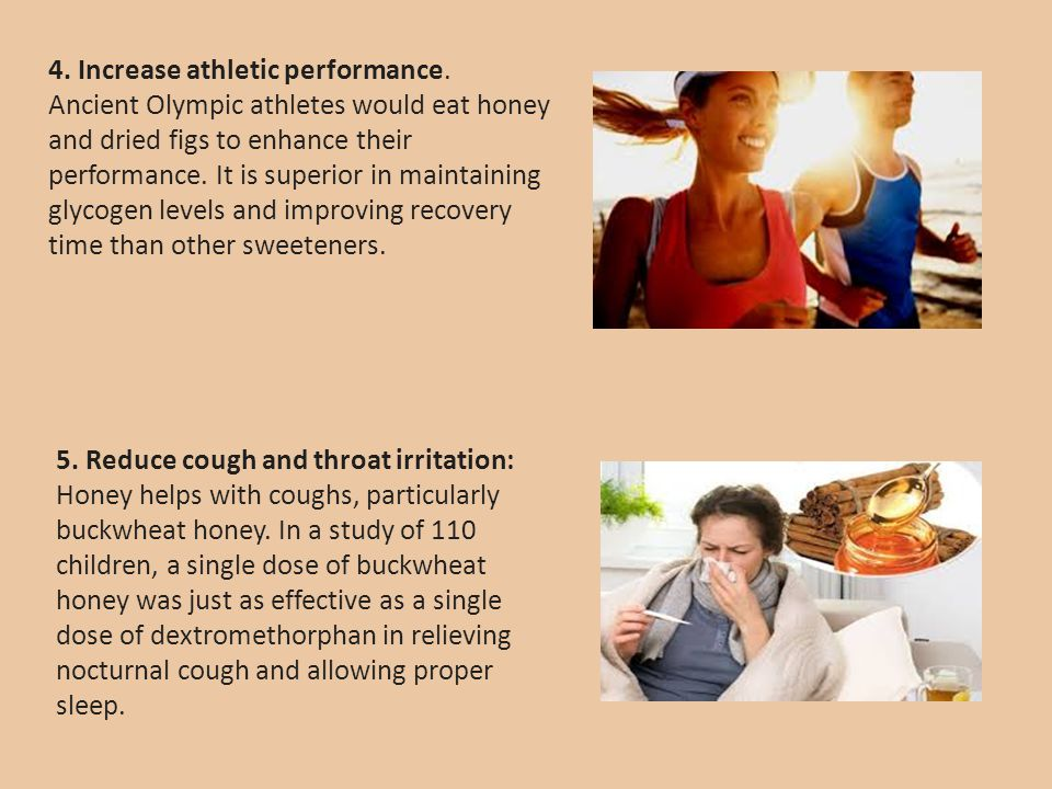 4. Increase athletic performance