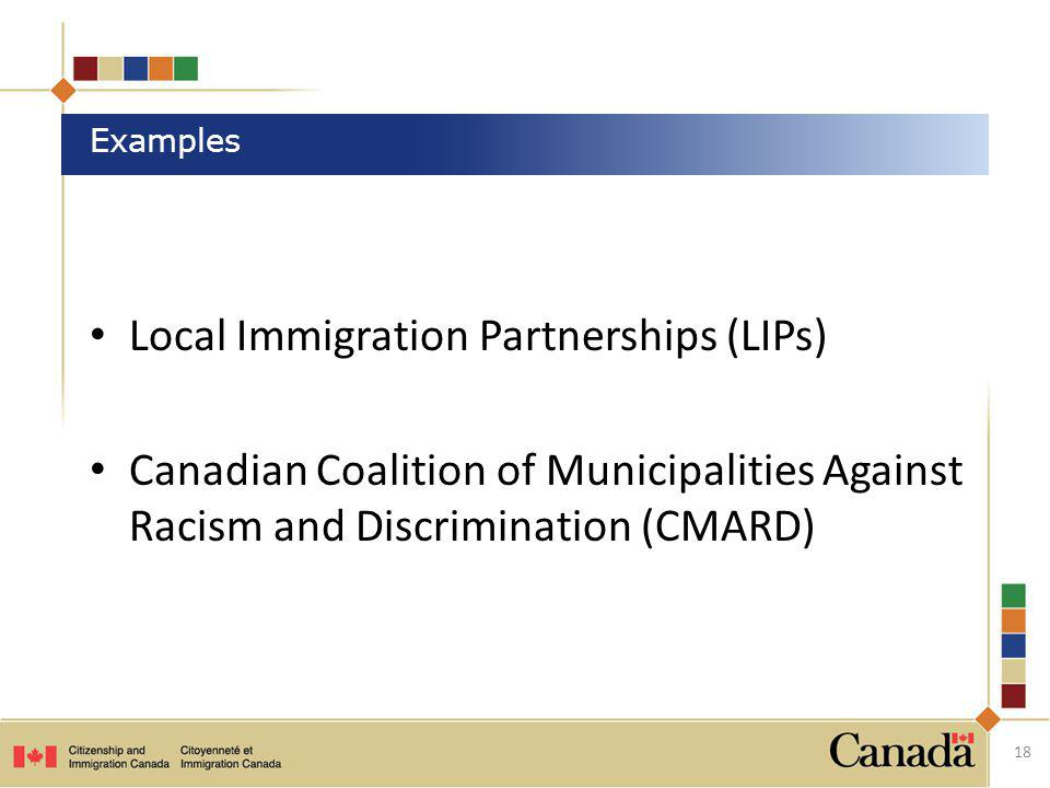 Local Immigration Partnerships (LIPs)