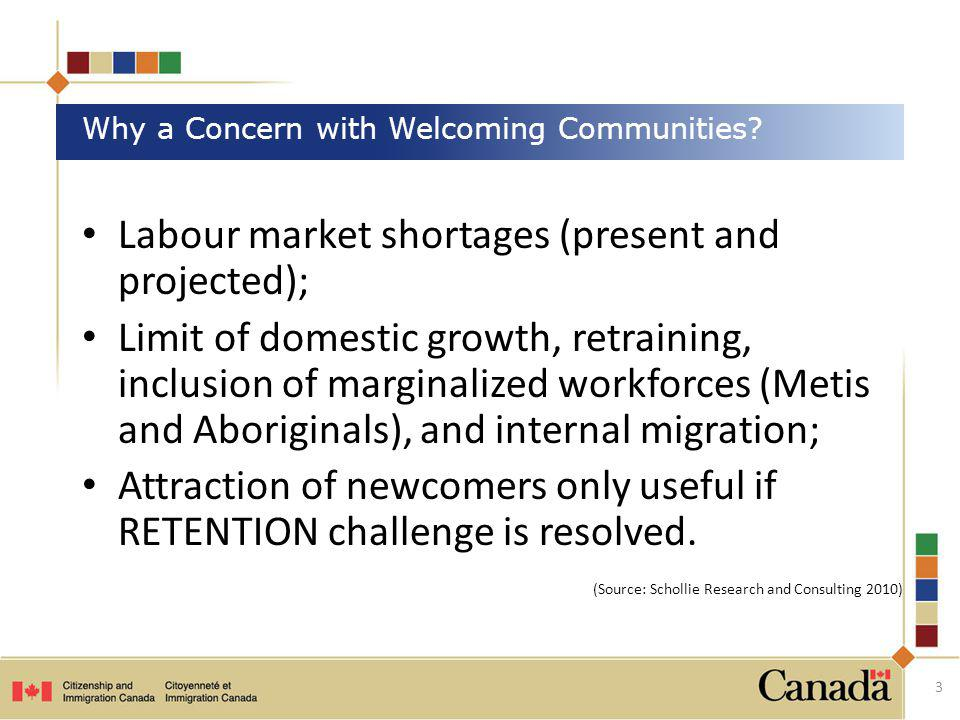 Why a Concern with Welcoming Communities