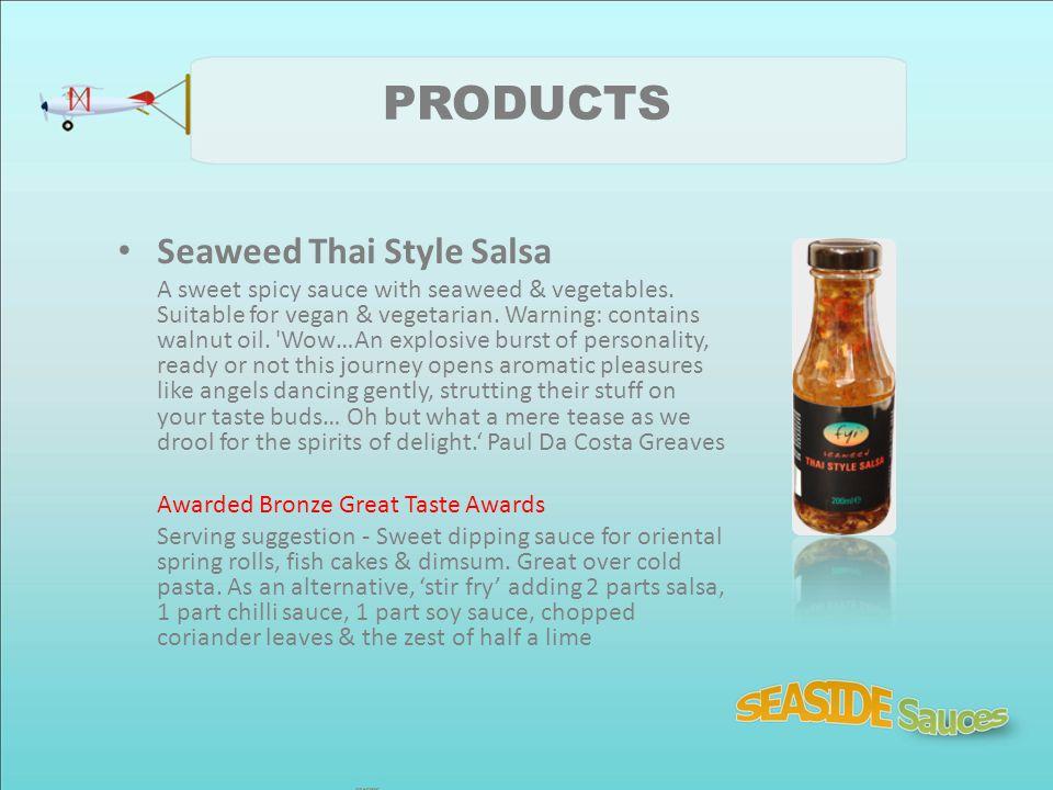 PRODUCTS Seaweed Thai Style Salsa