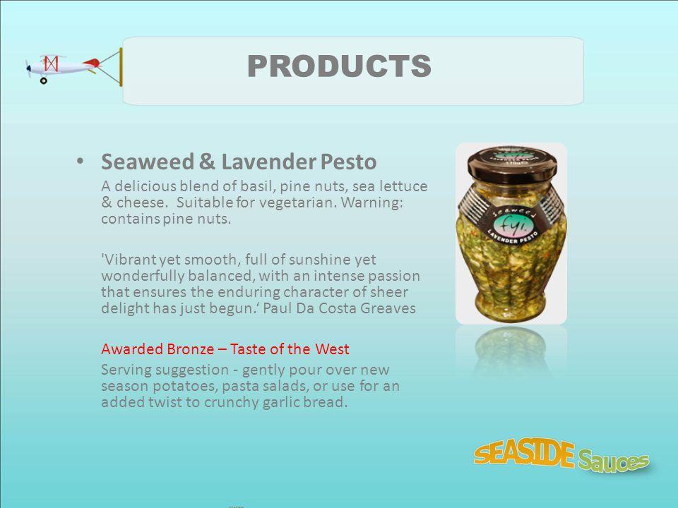 PRODUCTS Seaweed & Lavender Pesto