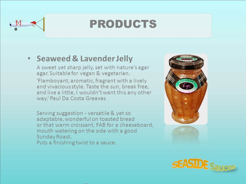 PRODUCTS Seaweed & Lavender Jelly