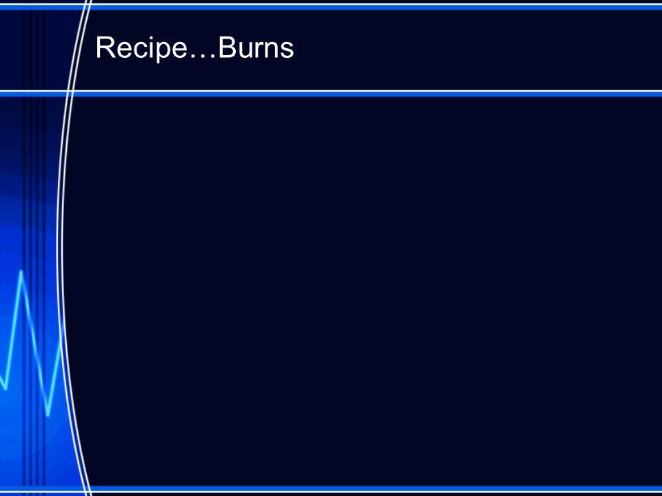 Recipe…Burns
