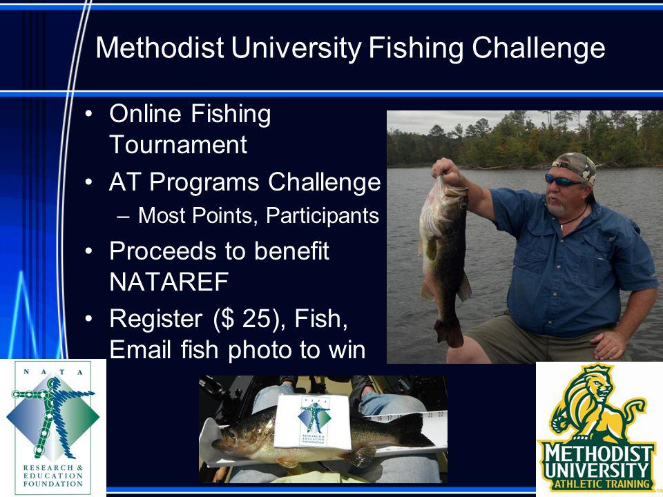 Methodist University Fishing Challenge