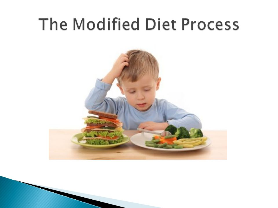 The Modified Diet Process