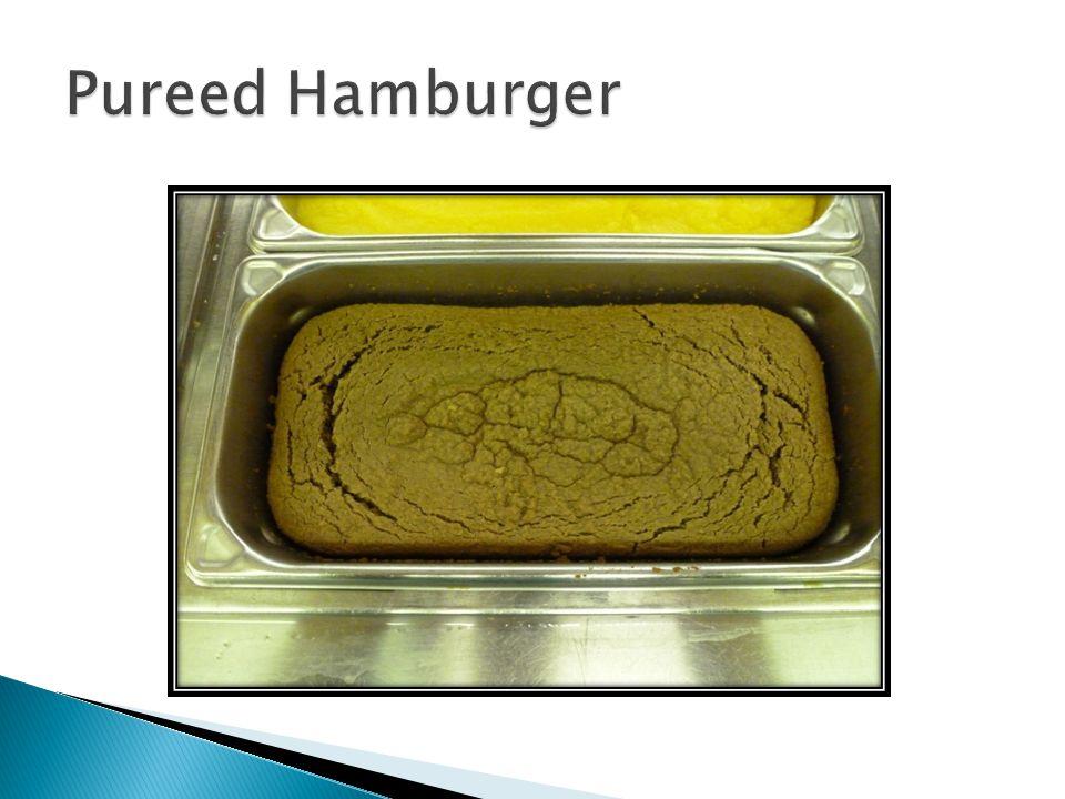 Pureed Hamburger
