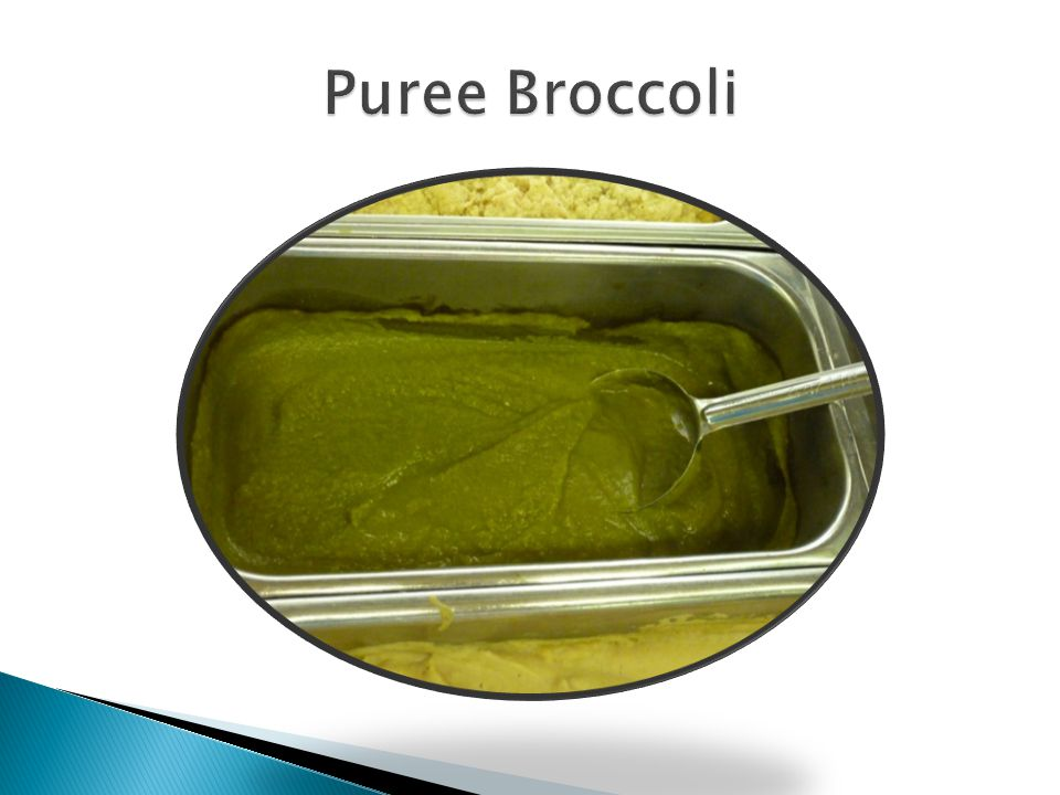 Puree Broccoli
