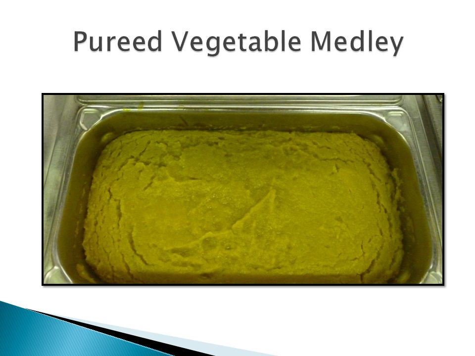 Pureed Vegetable Medley