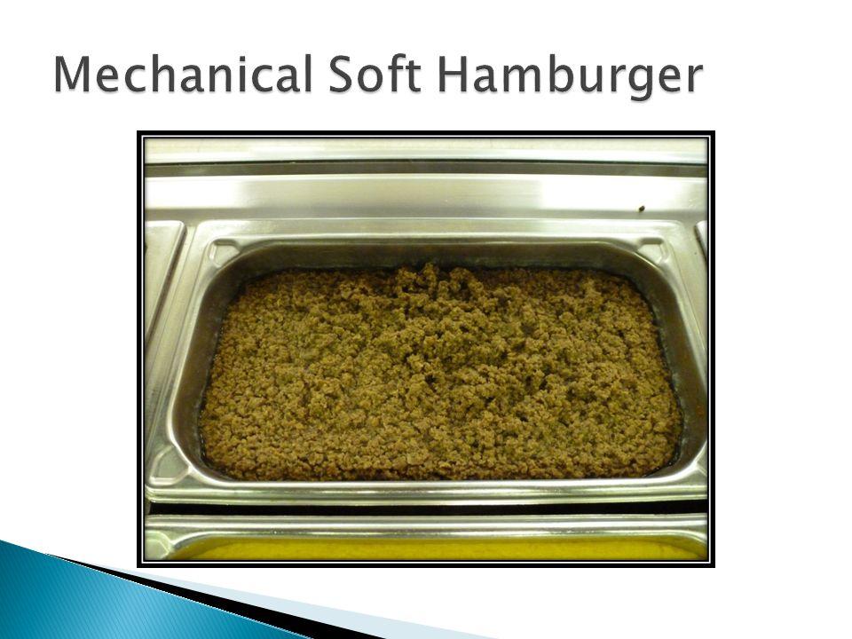 Mechanical Soft Hamburger