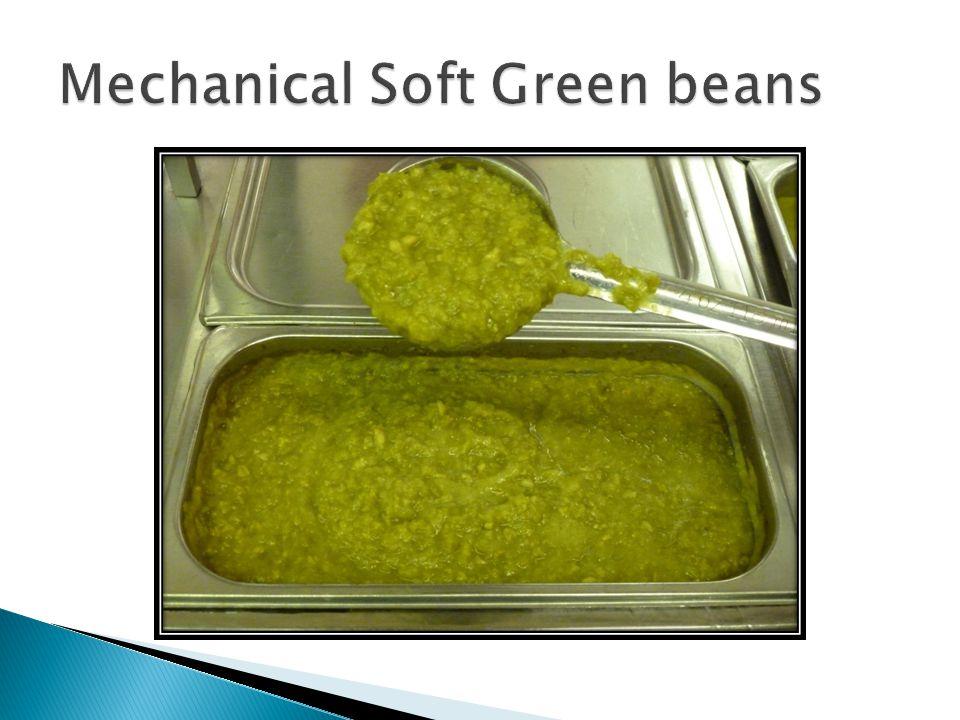 Mechanical Soft Green beans