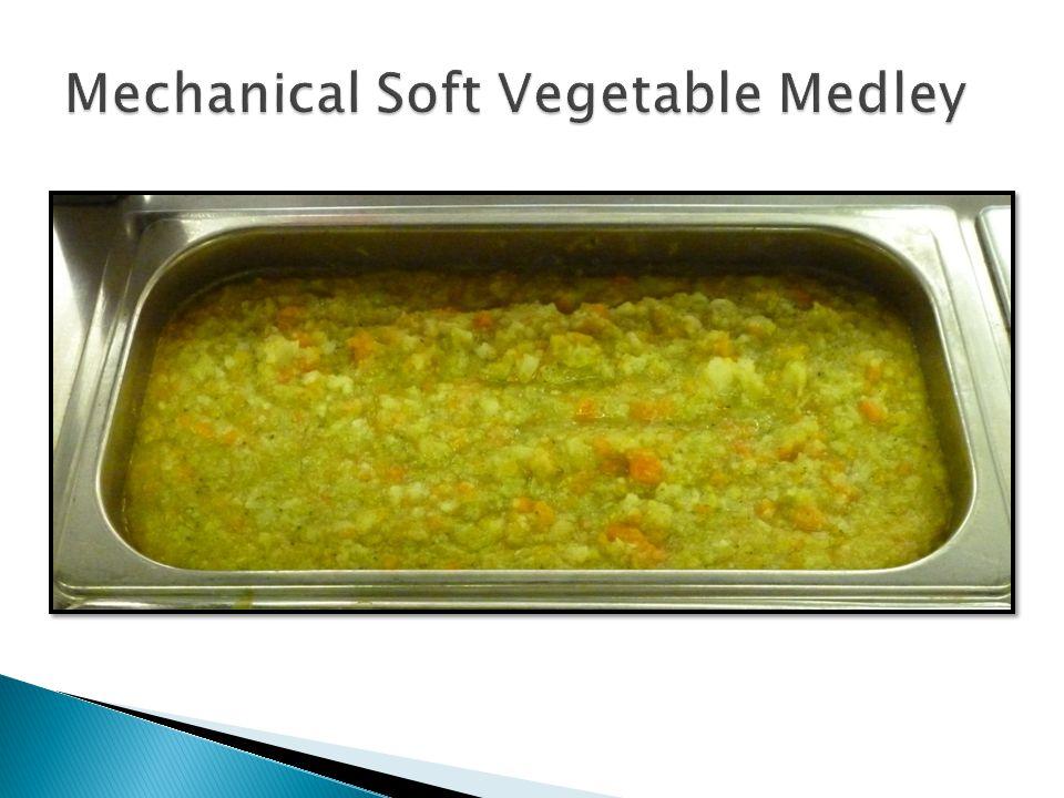 Mechanical Soft Vegetable Medley