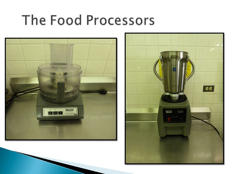 The Food Processors