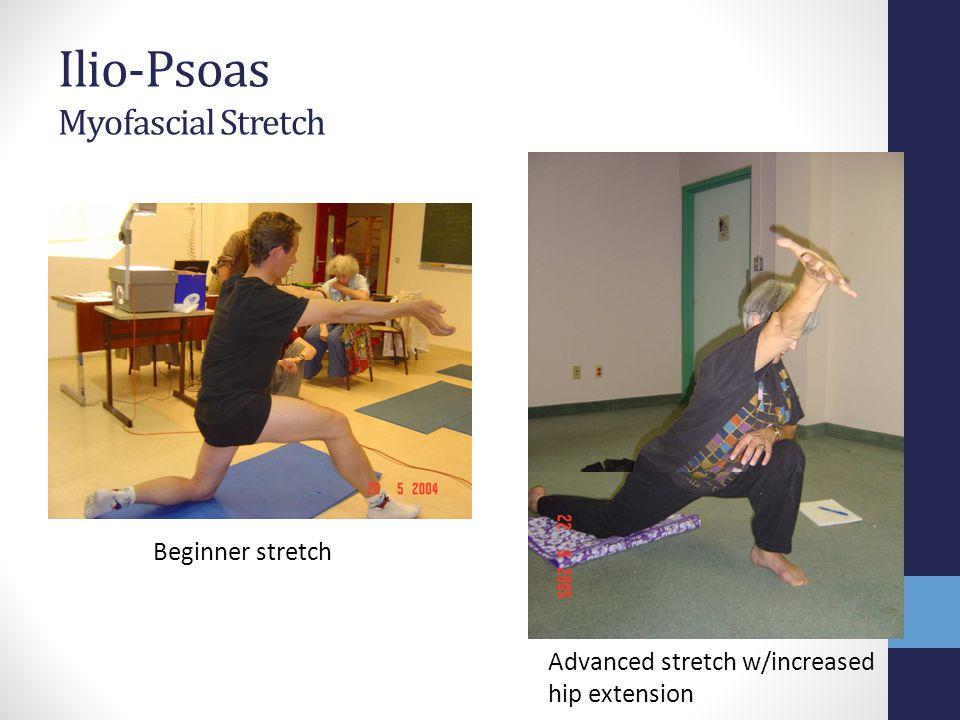 Ilio-Psoas Myofascial Stretch