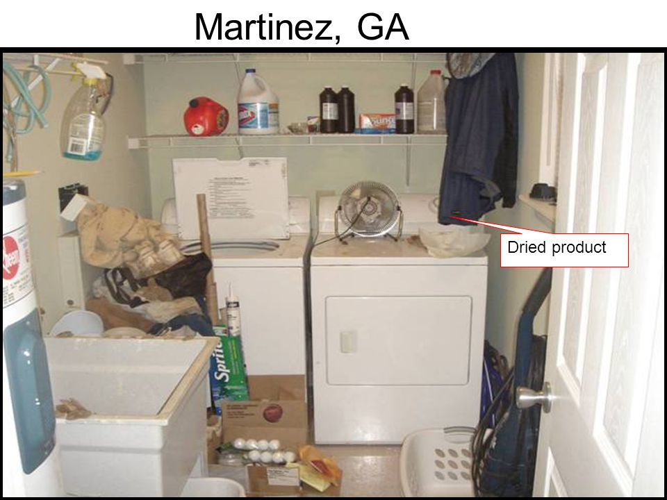 Martinez, GA Dried product