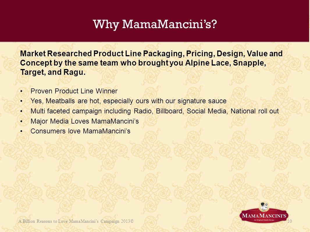 Why MamaMancini's