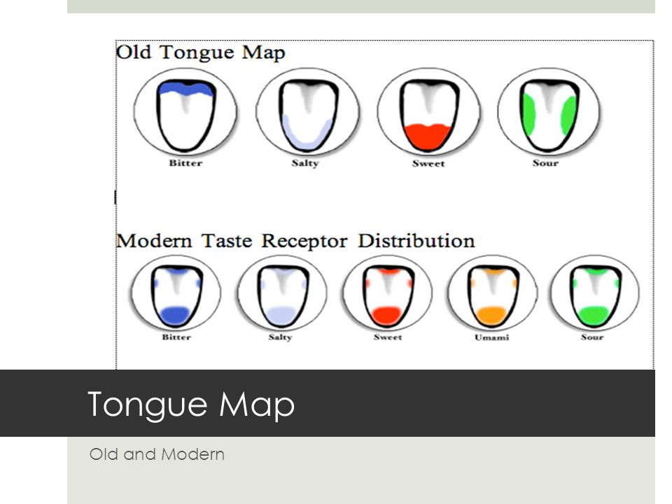 Tongue Map Old and Modern