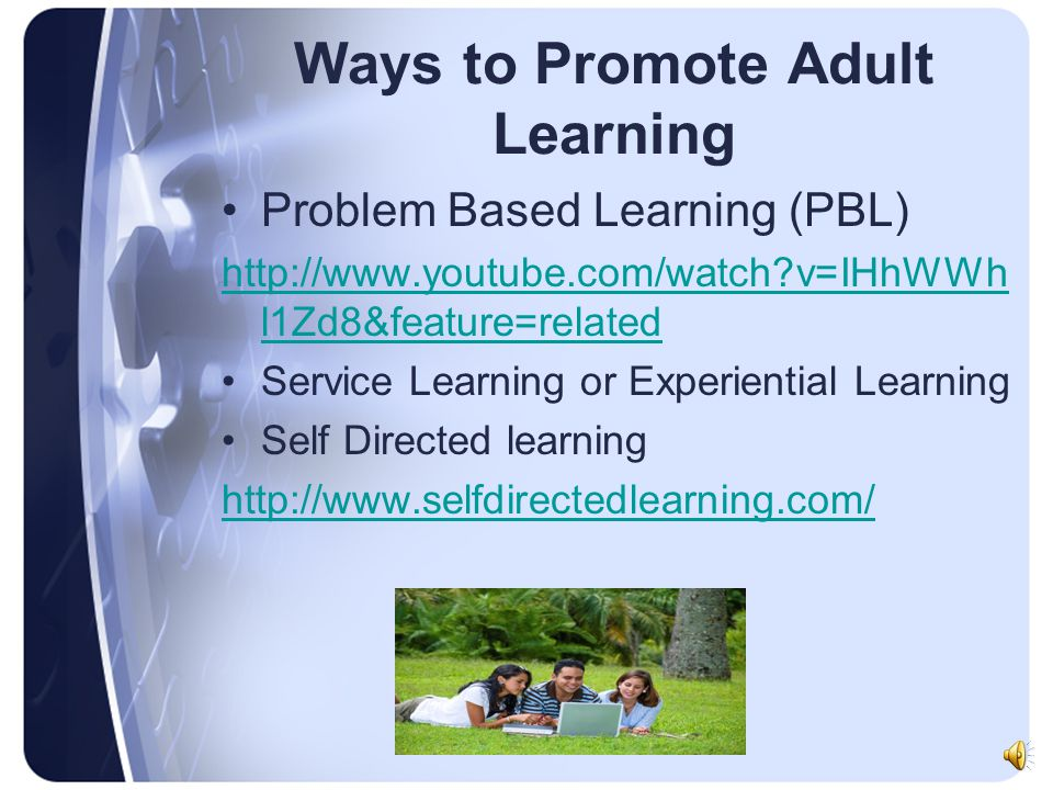 Ways to Promote Adult Learning
