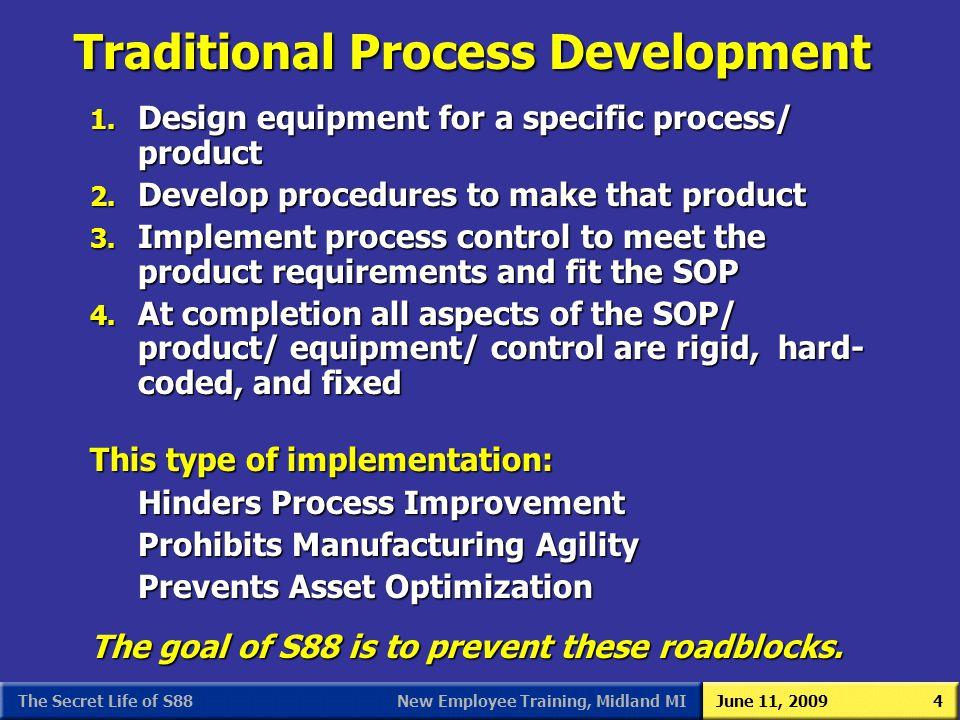 Traditional Process Development