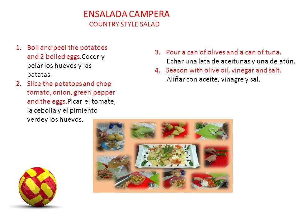 ENSALADA CAMPERA COUNTRY STYLE SALAD