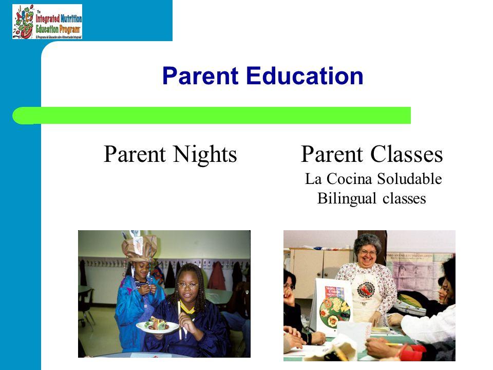 Parent Nights Parent Classes