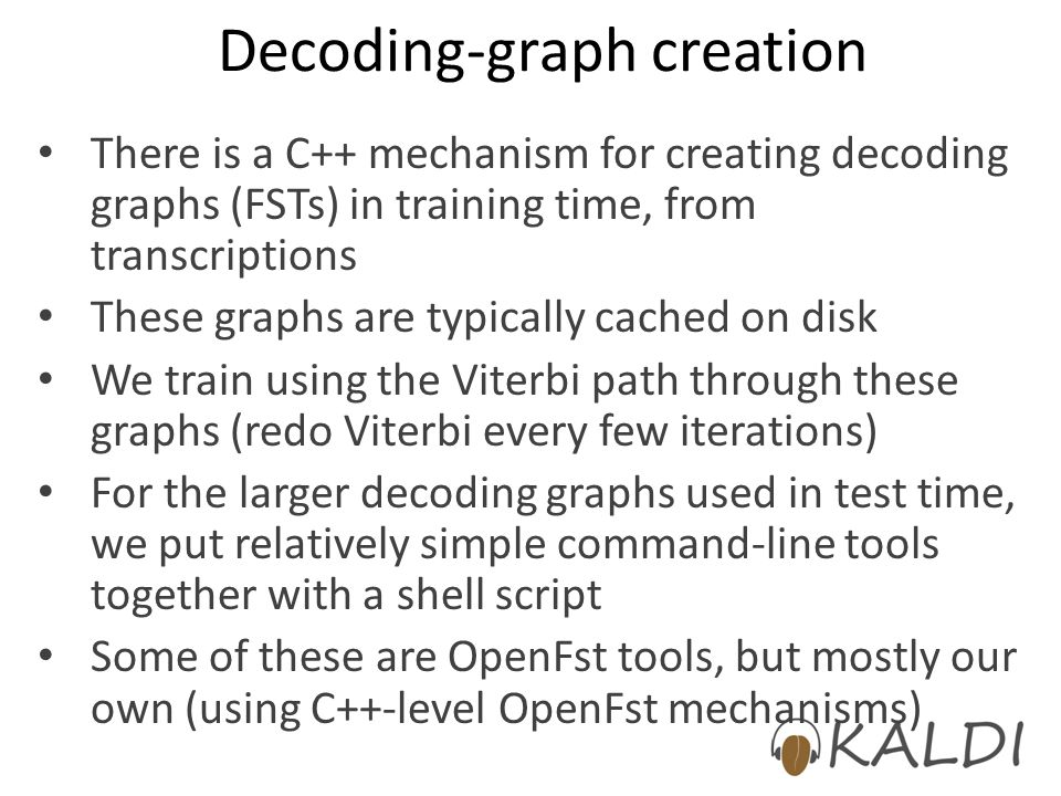 Decoding-graph creation