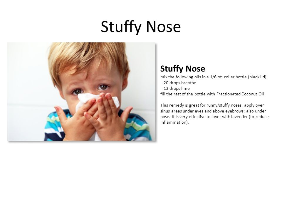 Stuffy Nose Stuffy Nose