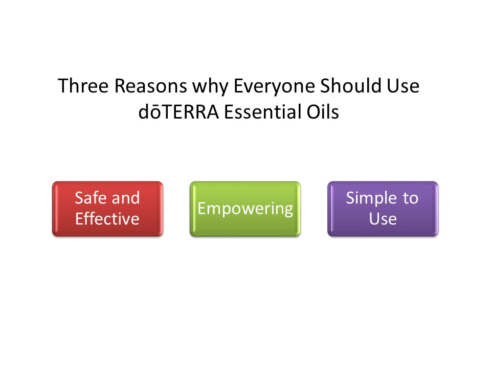 Three Reasons why Everyone Should Use dōTERRA Essential Oils