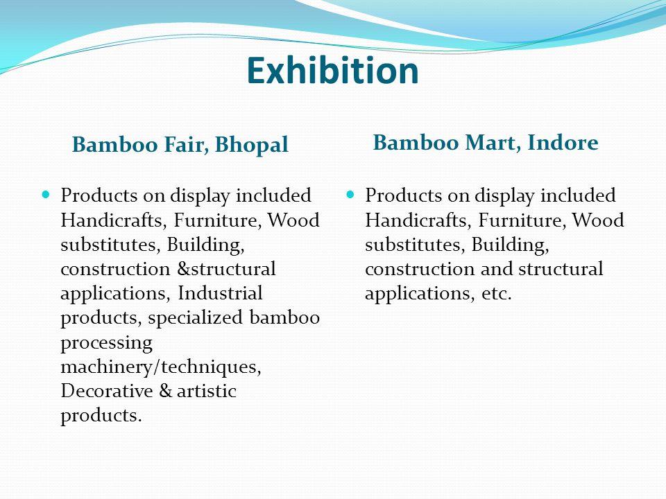 Exhibition Bamboo Fair, Bhopal Bamboo Mart, Indore