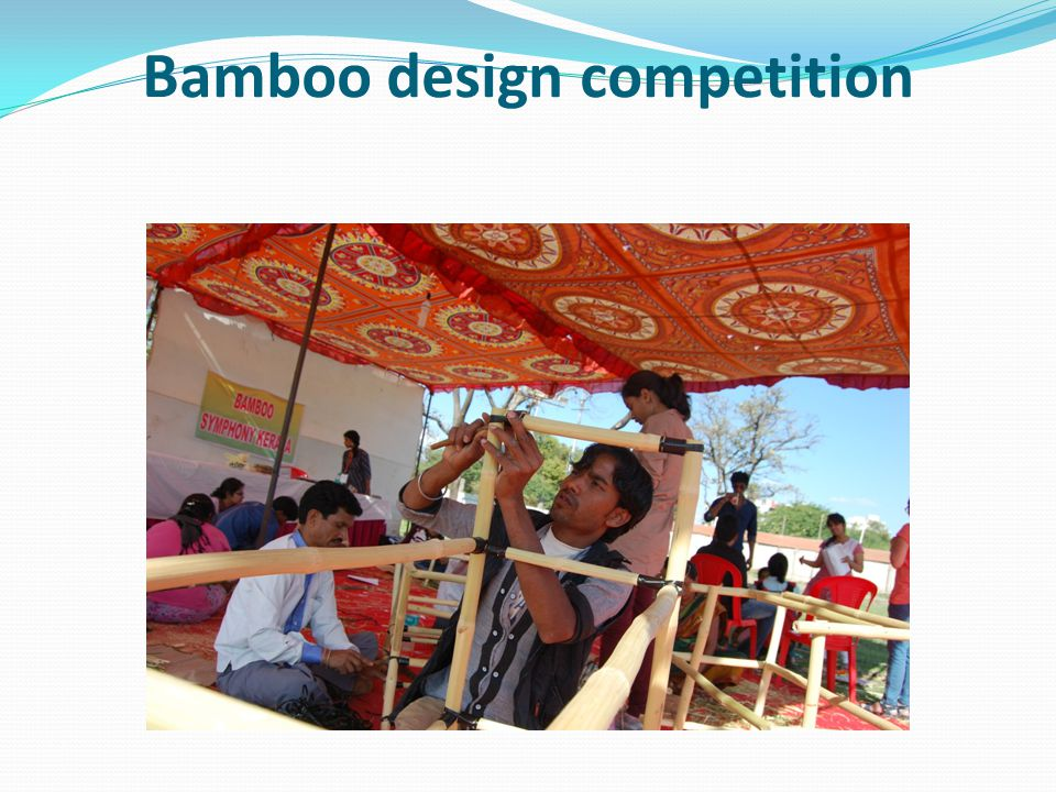 Bamboo design competition
