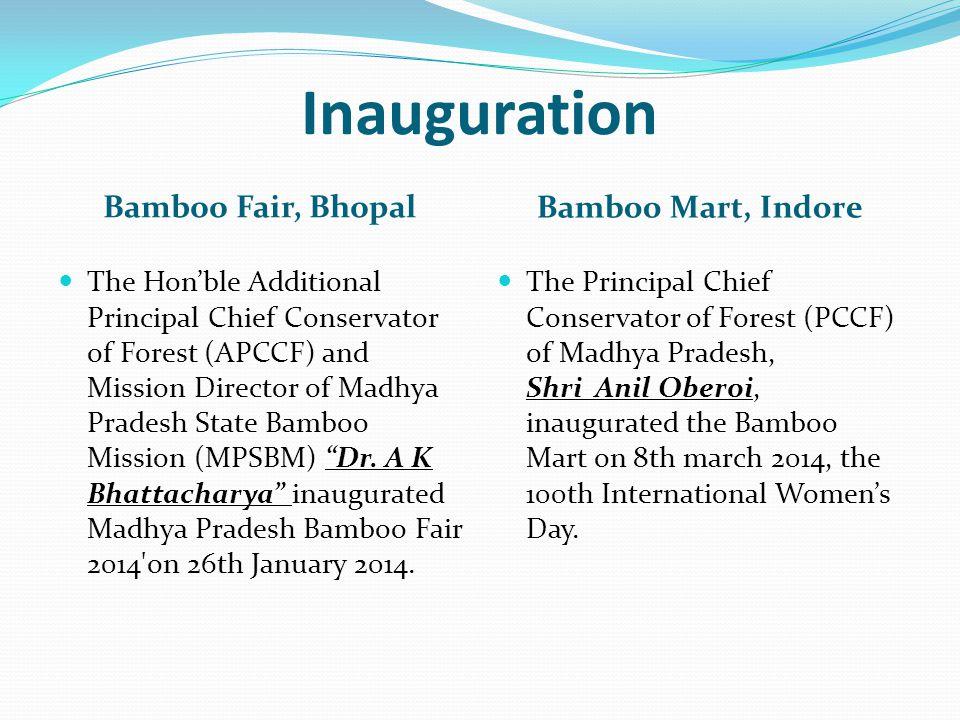 Inauguration Bamboo Fair, Bhopal Bamboo Mart, Indore