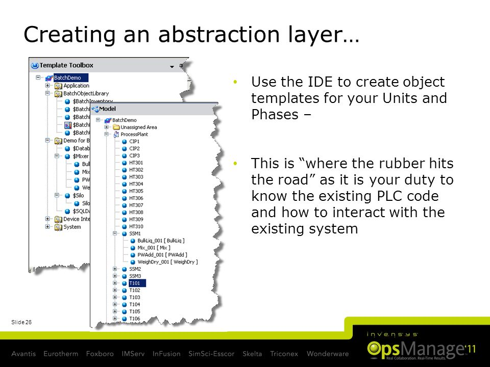 Creating an abstraction layer…