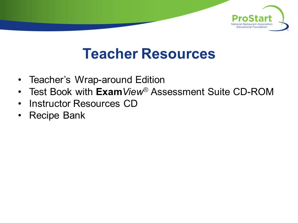 Teacher Resources Teacher's Wrap-around Edition