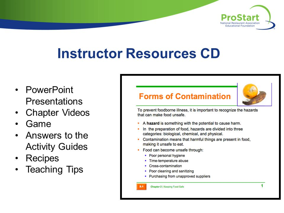 Instructor Resources CD