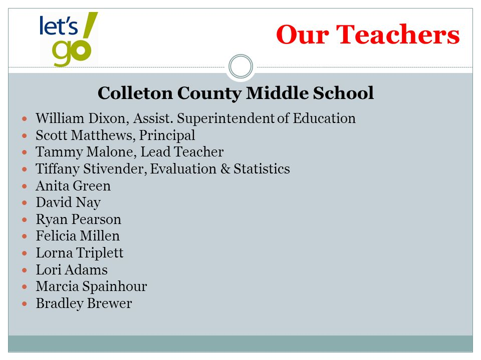 Colleton County Middle School