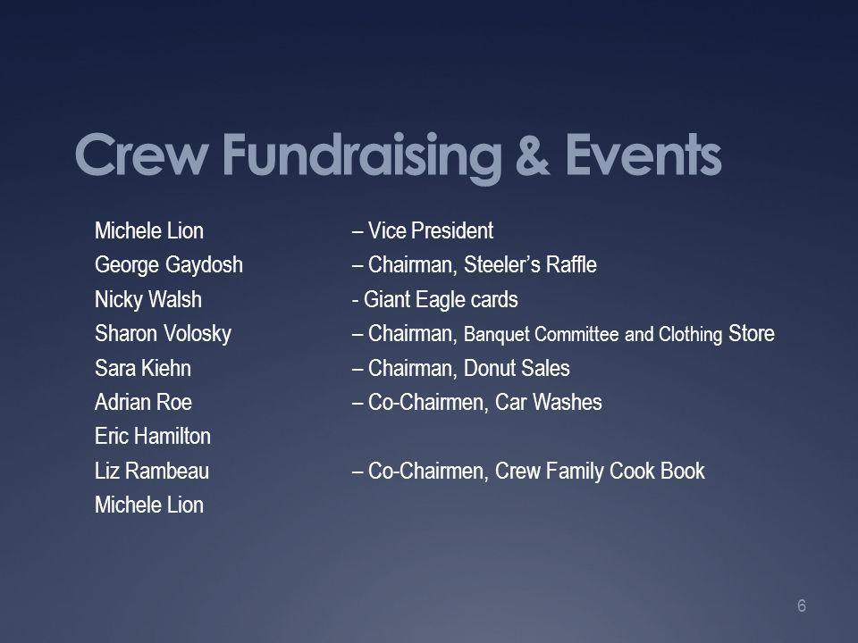 Crew Fundraising & Events