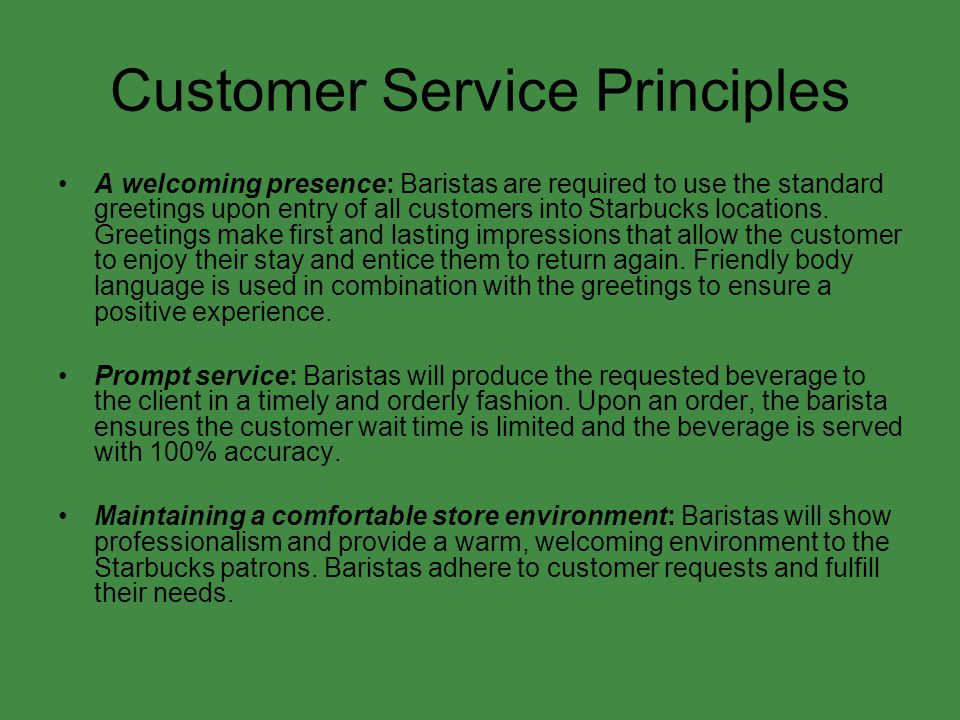 principles of customer service pdf