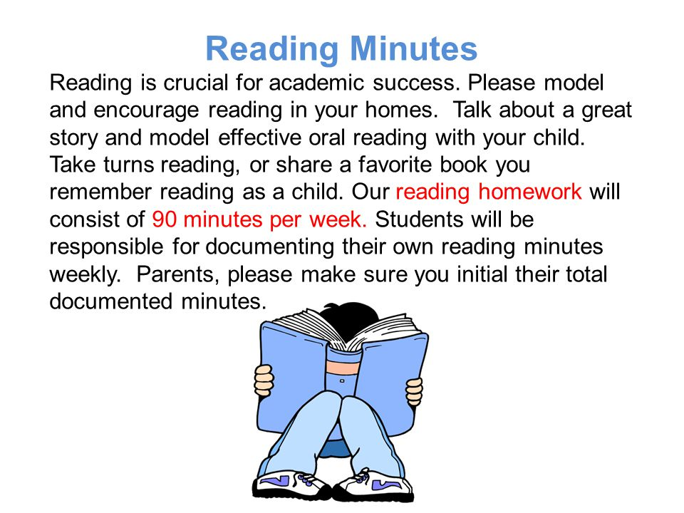 Reading Minutes