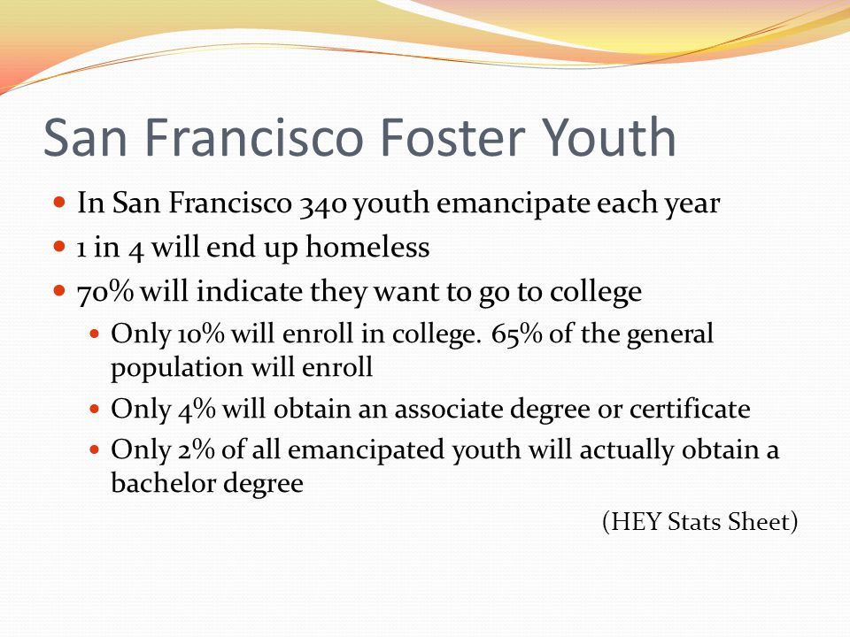 San Francisco Foster Youth